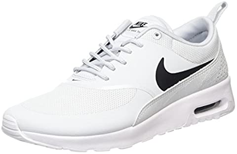 Nike Air Max Thea, Baskets Femme, Argent (Pure Gris Platinum/Black-White),