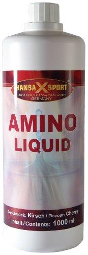 Hansa Vital Amino Liquid Kirsche, 1er Pack (1 x 1 l)