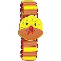 Mi Primer Reloj de Pulsera Madera con Agujas Giratorias Die Lieben Sieben (Pato Lotte)