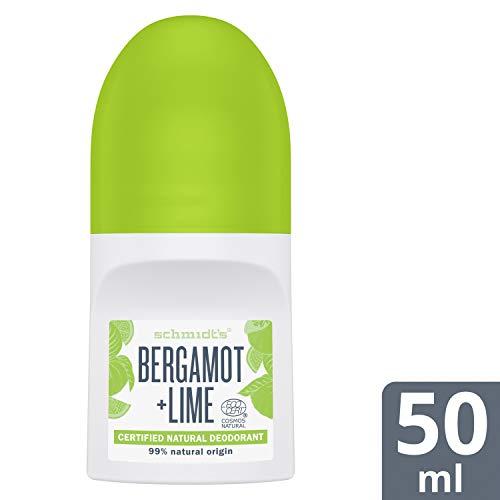 Schmidt's Desodorante Roll On Bergamota Lima Vegano