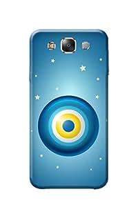 Samsung E5 Cover, Premium Quality Designer Printed 3D Lightweight Slim Matte Finish Hard Case Back Cover for Samsung Galaxy E5 by Tamah