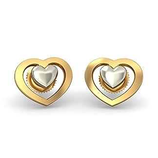 BlueStone 22k (916) Yellow Gold Rujula Stud Earrings