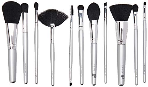 e.l.f. Silver 11 Piece Brush Collection