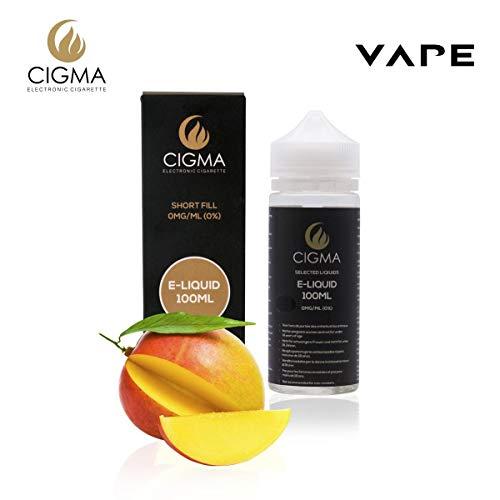 CIGMA Mango 100ml E Liquido 0mg | Nuevas botellas
