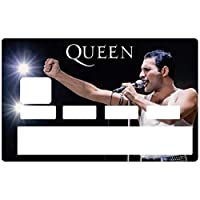 DECO-IDEES Credit card Sticker, Freddie Mercury & Queen - Personalize Your Credit Card Visa or MasterCard with These Removable Stickers