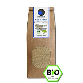 Organic Green Coffee Powder for Weight Loss / Diet 100% Natural Arabica Honduras Highland (500g Grounded & unroasted)