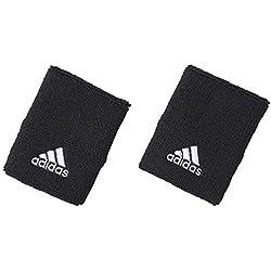Adidas Wrist - Pulseras con holograma de fitness, color negro / blanco, talla Talla única