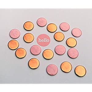 Magneten Set rosa kupfer/rosegold Herr Fuchs 8 Stück