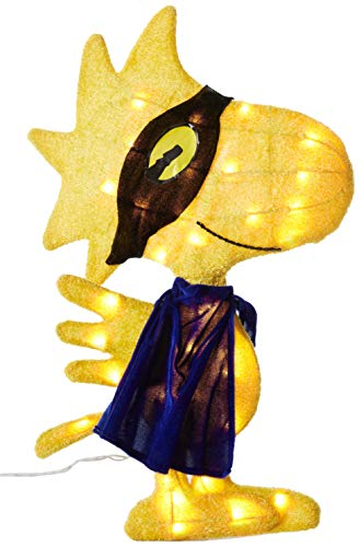 euchteter Spooky Maskiert Woodstock Yard Dekoration ()