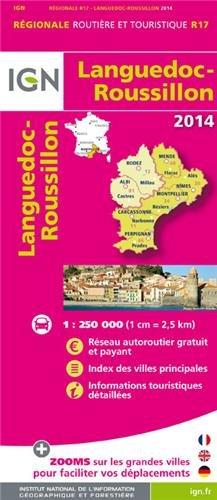 R17 LANGUEDOC/ROUSSILLON 2014 1/250.000