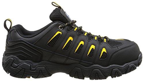 Skechers For Work 77051 Blais Steel-toe Hiking Shoe Black