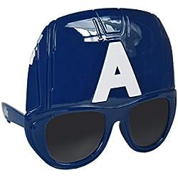 22-658 Gafas de sol/Mascára para niño motivo CAPITAN AMERICA protección UV-3