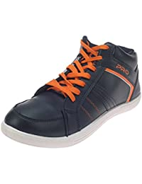 Pro (from Khadims) Mens Faux Leather Casual Sneakers