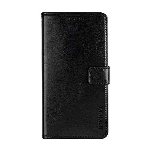 Elephone P8 Mini Hülle,Handyhülle Elephone P8 Mini,TPU-Schutzhülle mit [Aufstellfunktion] [Kartenfächern] [Magnetverschluss] Brieftasche Ledertasche für Elephone P8 Mini