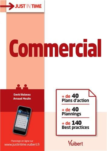 Commercial - + de 40 Plans d action + de 40 Plannings + de 140 Best practices par David Balzeau