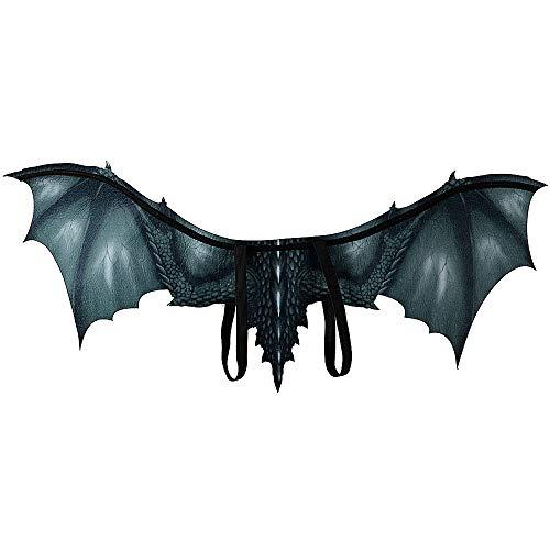 Coeffort Vlies Drache Cosplay Flügel Requisiten Halloween