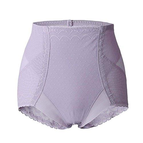 La Donna Sollevare I Fianchi Morbida Vita Medio Sexy Traspirante Confortevole Addome La Salute Mutandine Purple