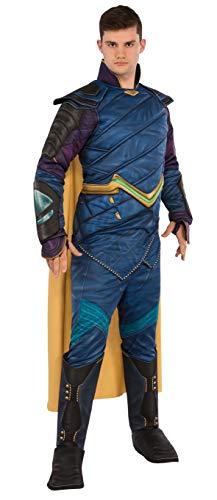 Generique - Loki Thor Ragnarok-Herrenkostüm Lizenz blau-lila-schwarz XL