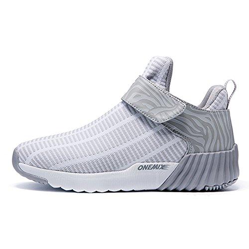 Running Course De Grey White Femme Ete Onemix Chaussures Baskets rwYxqrIHO