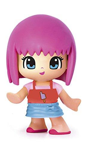 Pinypon 700014103, Figurita Serie 8, Cabello Rosa