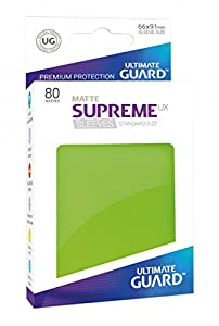 Ultimate Guard ugd010553 - Supreme UX Sleeves, tamaño estándar, Mate Color Verde Claro