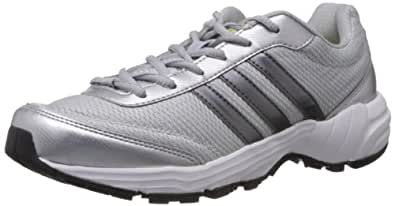Adidas Men's Phantom 2 M Silver and Grey Mesh Running Shoes - 11 UK