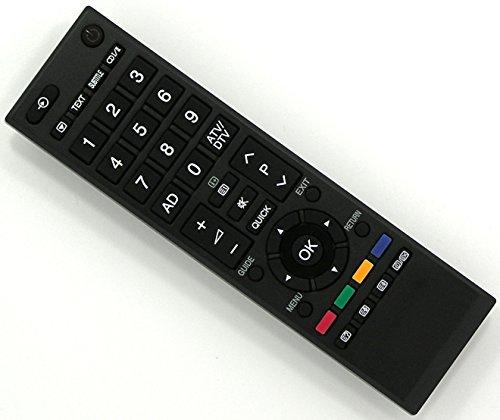 Ersatz Fernbedienung für Toshiba TV Fernseher Remote Control / TO02 / 32AV713B 32AV733 32AV733D 32AV733F 32AV733G 32AV734F 32AV833 32AV833B 32AV833G 32AV834B 32AV933G 32AV934G 32CV711B 32DB833 32DB833G 32EL833B 32EL833G 32EL933B 32HL833 32HL833B 32HL833F 32HL833G 32HL933B 32HL933G 32J2433DB 32L2443DG 32LV655D 32LV655P 32LV665D 32LV675D 32LV685 32LV685D 32LV685DG 32LV703 32LV703G 32LV713B