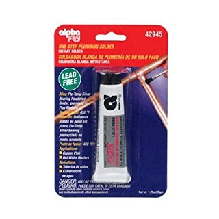 Alpha Fry AM42945 Cookson Elect Flo-Temp Lead-Free Instant Plumbing Solder by alpha fry