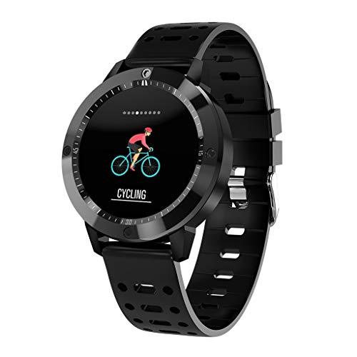 Chenang Smartwatch,Sport CF58 Intelligent Fitnessarmband Farbbildschirm Fitness Uhr Health & Fitness Pulsuhren Wasserdicht IP67 Facebook, Twitter, SMS, Skype, Whatsapp, QQ, Ins Wechat