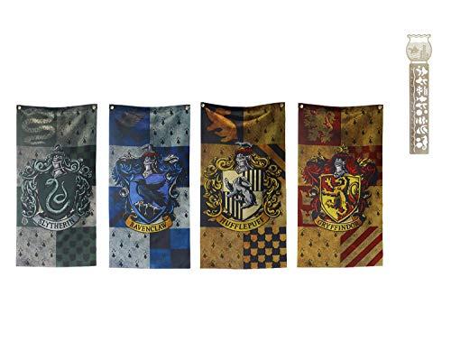 TPOTTER 4pcs[100X47CM] cumpleaños Banners Banderas