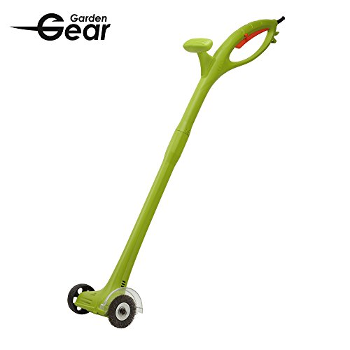 Garden Gear Electric Weed Sweeper Clears Drives Patios & Paving of Moss and Dirt,140 Watts.