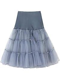 da2de0a1ddb1 Suchergebnis auf Amazon.de für: tutu blau - Grau / Röcke / Damen ...