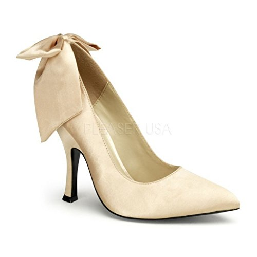 Pinup Couture  BOMBSHELL-03, Escarpins pour femme Beige - Champagne