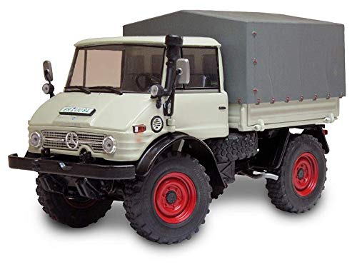 Preisvergleich Produktbild 1044 Unimog 406 Ganzstahl-Farerhaus Kieselgrau 1971-1989