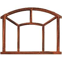 Nostalgie Stallfenster 48x62,5cm Fenster Eisen Rahmen rostig antik Stil iron