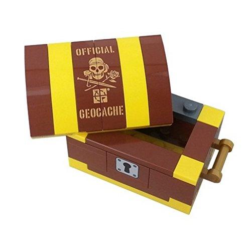 Unbekannt Build Your Own Treasure Chest Cache Contenedor, 0.03 kilograms, Color