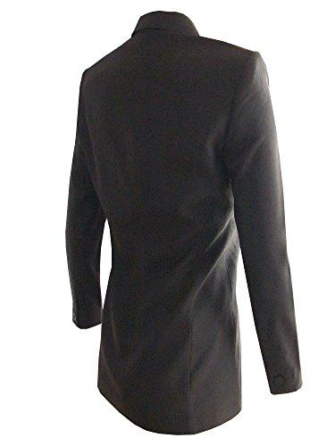 Eleganter Business-Blazer für Damen der Marke Sciarra in Braun ROE147 gefüttert Braun