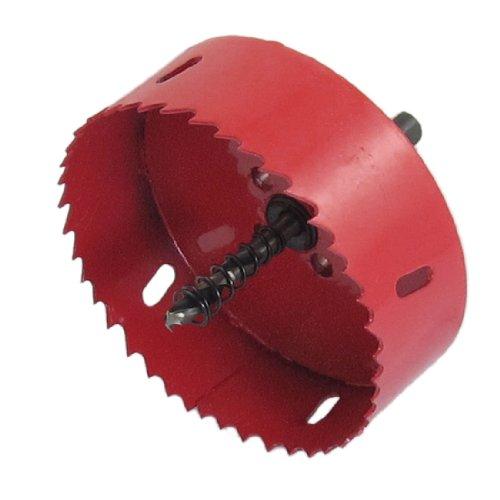 Sourcingmap a12120500ux0796 - Punta in bi-metallo per sega a tazza, attacco elicoidale a triangolo 100 mm
