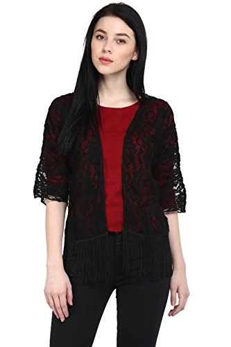 Honey By Pantaloons Women's Polyester Shrug