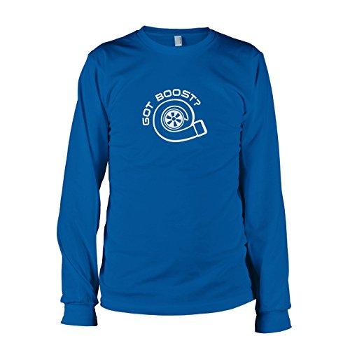 TEXLAB - Got Boost - Langarm T-Shirt Marine