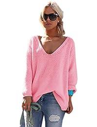 Mikos  Damen Pullover Hoodie Sweatshirt Warm Lange Ärmel Casual Sleeve  Pullover Jacke Slim Mantel Tops 5591503386