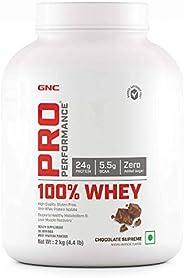 GNC Pro Performance 100% Whey Protein - 2 kg (Chocolate Supreme)