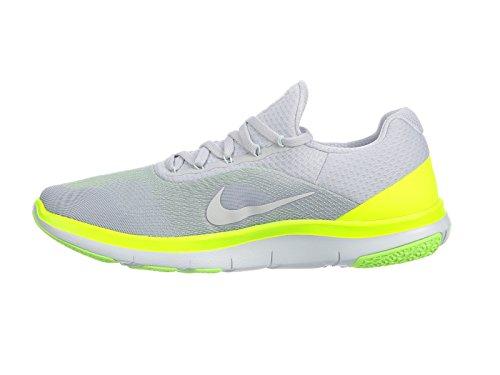 Nike Herren Free Trainer V7 Hellgrau Textil/Synthetik Trainingsschuhe Hellgrau (Pure Platinum/White/Sail/Off White)