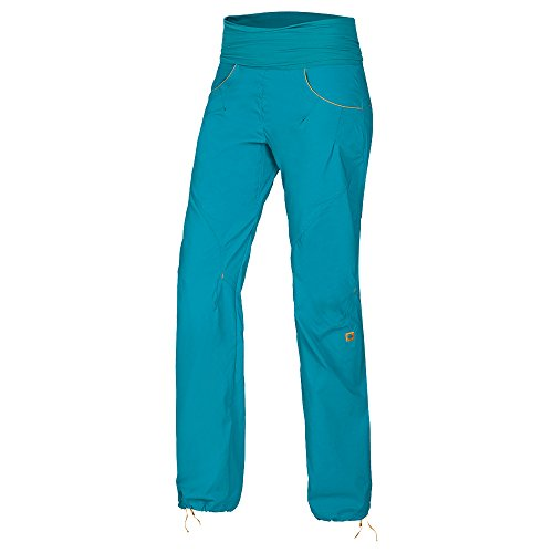 Ocun Noya Pants Women blue/yellow