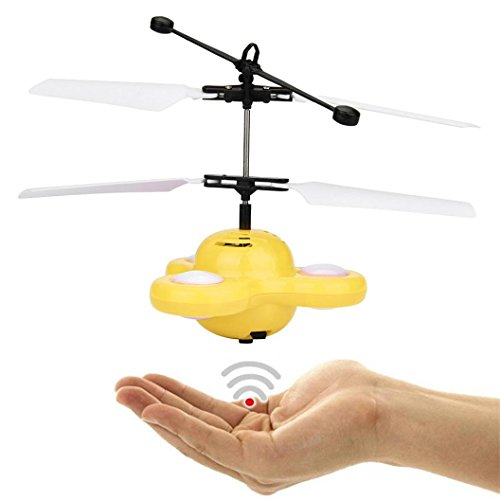 RC Aircraft Flying Toy Drone zycShang Mano Volador OVNI Pelota LED Mini...
