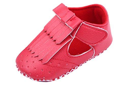 La Vogue Chaussures Premiers Pas Souple Bébé Cuir PU Coton Respirant