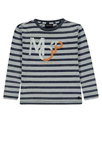 Marc O' Polo Kids Baby-Jungen T-Shirt 1/1 Arm, Mehrfarbig (Y/D Stripe|Multicolored 0001) 92
