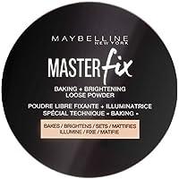 Maybelline New York Master Fix - Baking Powder Banana, Polvos Traslúcidos Matificantes - 6 gr