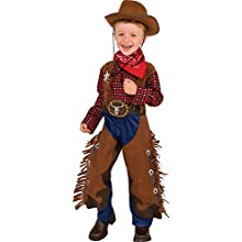 Rubie's 510321 Little Wrangler Costume, shown, M