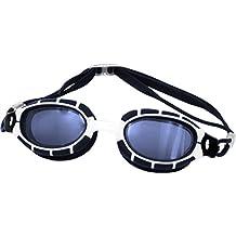 Aqua Speed Alpha Monoblock - Gafas de natación para hombre, talla única, color azul
